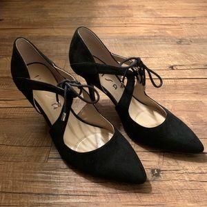 UNISA women's size 9 tie up heels